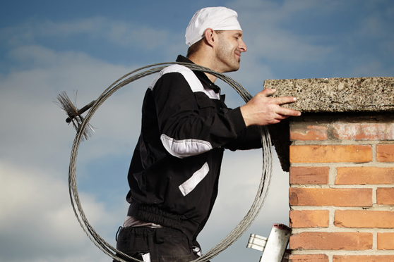 What can you expect during chimney cleaning